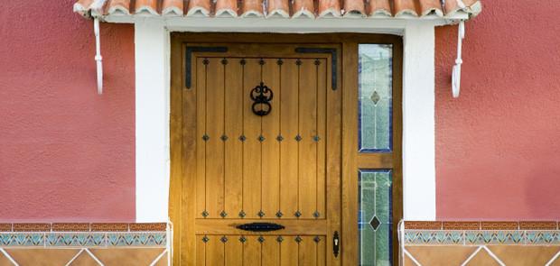 Puertas de entrada en pvc y aislamiento t rmico diagonal - Puertas de entrada de pvc precios ...