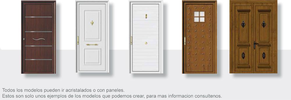 Puertas de aluminio diagonal mar poble nou barcelona for Puertas para calle modernas