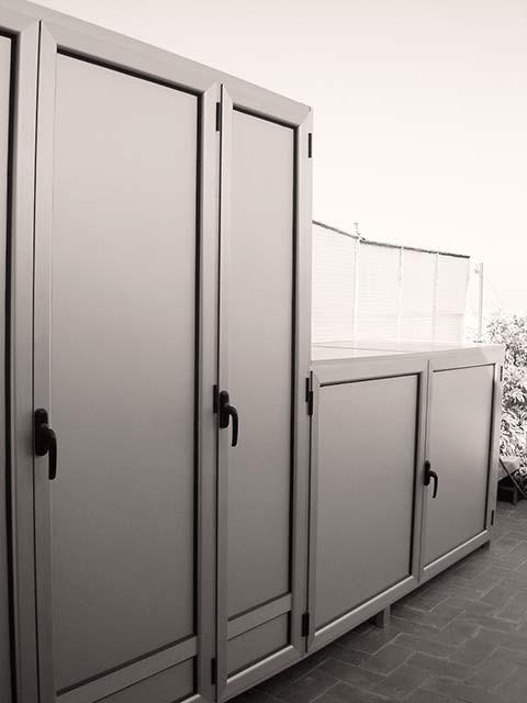 armarios de exterior en aluminio estancos endiagonal mar