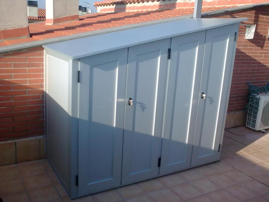 Armarios de aluminio para exterior materiales de for Armario exterior