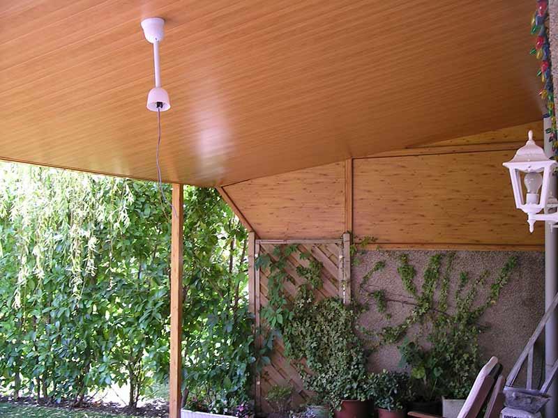 Instalaci n de falsos techos de aluminio diagonal mar for Techos de metal para casas