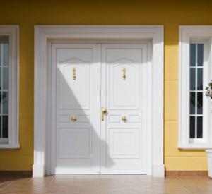 Puertas de entrada en pvc y aislamiento t rmico diagonal for Puertas de entrada de pvc