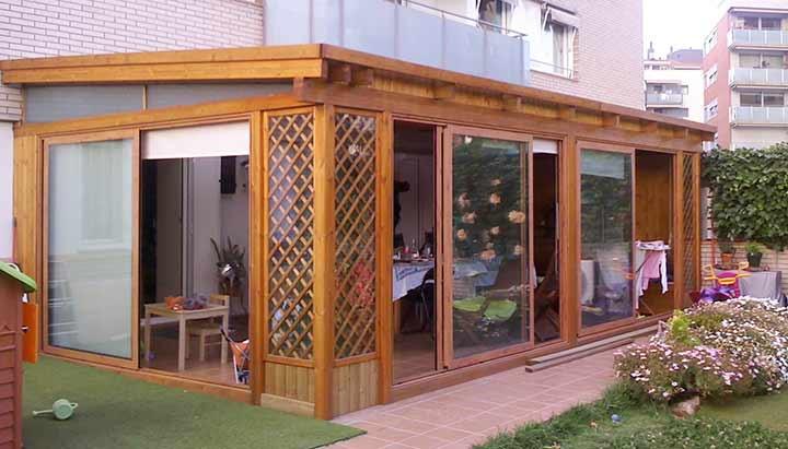 Cerramientos de aluminio para terrazas poble nou barcelona for Cerramientos en aluminio y vidrio