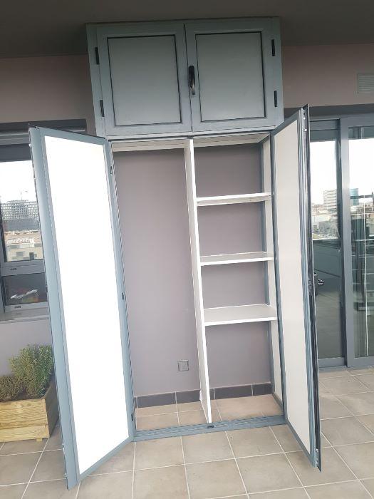 Armarios De Aluminio Para Terrazas